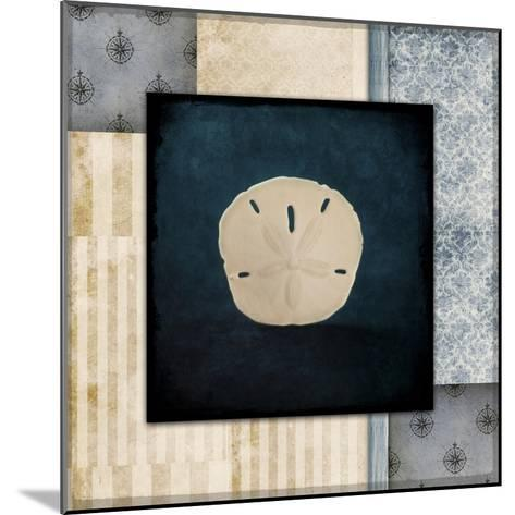 Blue Sea Sand Dollar-LightBoxJournal-Mounted Giclee Print