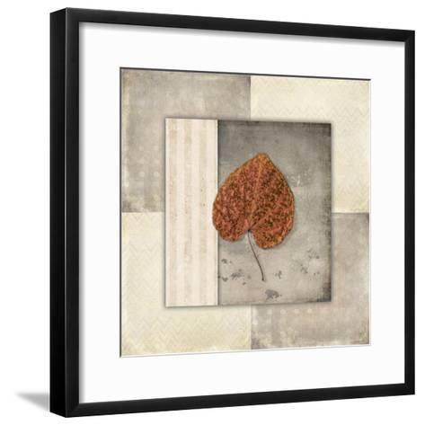 Lodge Leaf Tile 2-LightBoxJournal-Framed Art Print