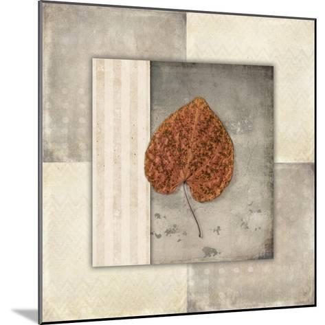 Lodge Leaf Tile 2-LightBoxJournal-Mounted Giclee Print