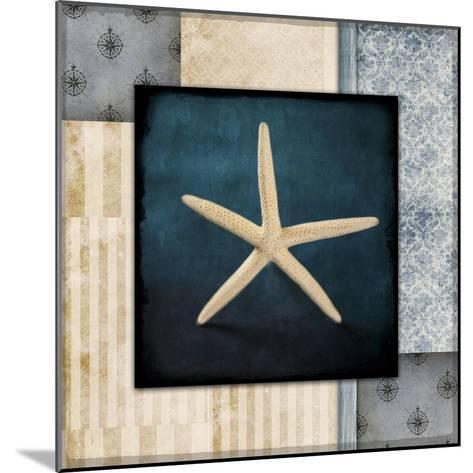 Blue Sea Starfish-LightBoxJournal-Mounted Giclee Print