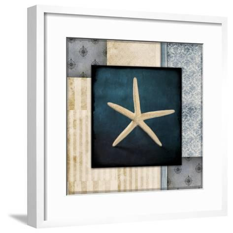 Blue Sea Starfish-LightBoxJournal-Framed Art Print