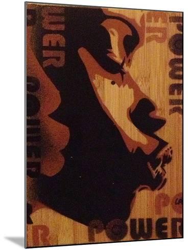 Power Kiss-Abstract Graffiti-Mounted Giclee Print