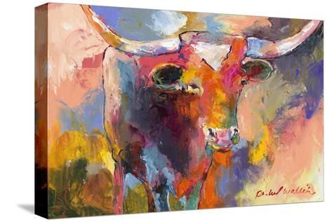 Steer-Richard Wallich-Stretched Canvas Print