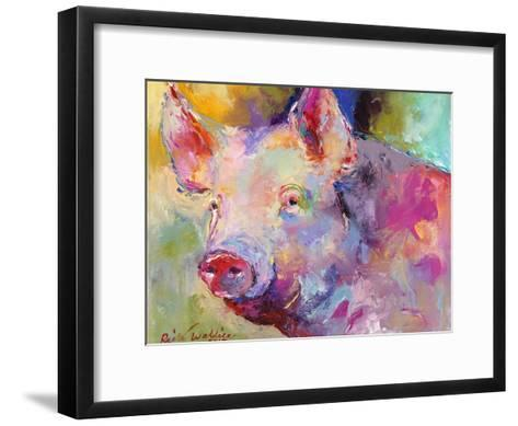 Piggy-Richard Wallich-Framed Art Print