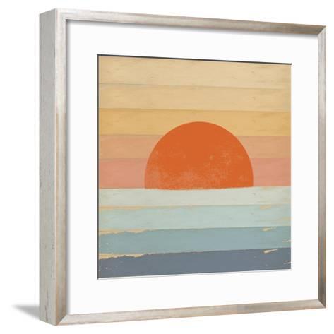 Sunrise over the Sea-Tammy Kushnir-Framed Art Print