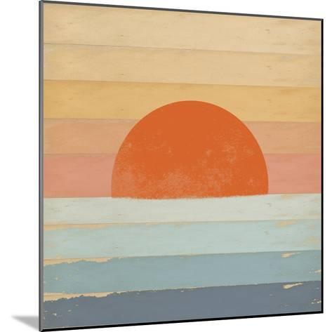 Sunrise over the Sea-Tammy Kushnir-Mounted Giclee Print