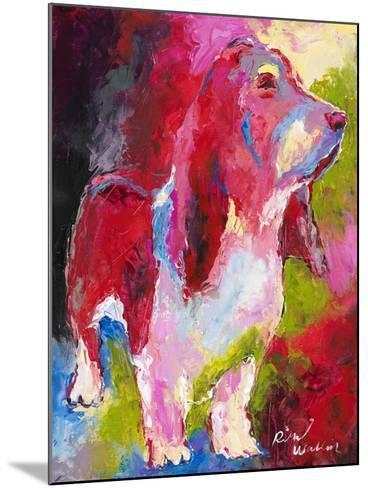 Red Head-Richard Wallich-Mounted Giclee Print