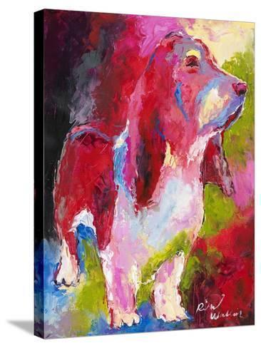 Red Head-Richard Wallich-Stretched Canvas Print