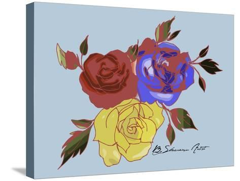 Rose-Shacream Artist-Stretched Canvas Print