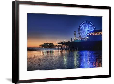 Ferris Wheel-Robert Kaler-Framed Art Print