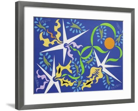 7CO-Pierre Henri Matisse-Framed Art Print