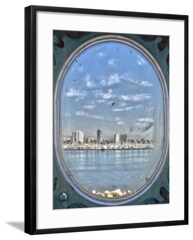 Porthole Views-Toula Mavridou-Messer-Framed Art Print