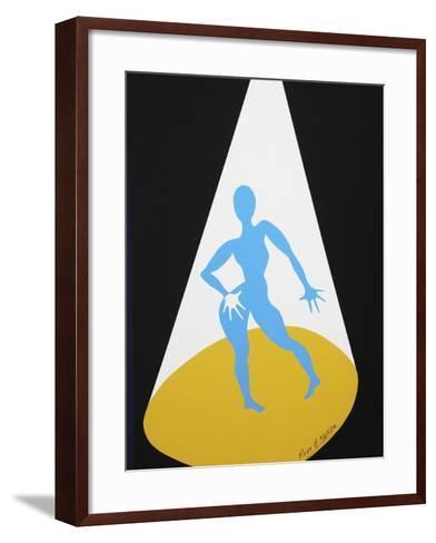 25CO-Pierre Henri Matisse-Framed Art Print
