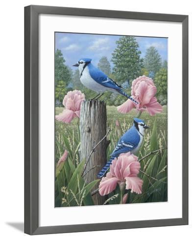 Blue Jays-Robert Wavra-Framed Art Print
