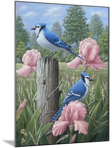 Blue Jays-Robert Wavra-Mounted Giclee Print