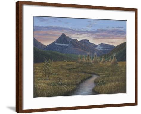 A Quiet Evening-Robert Wavra-Framed Art Print