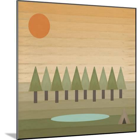 Camping Out-Tammy Kushnir-Mounted Giclee Print