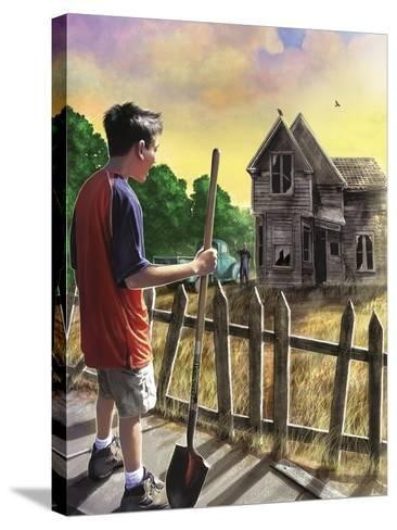 The Chore-Rob Johnson-Stretched Canvas Print