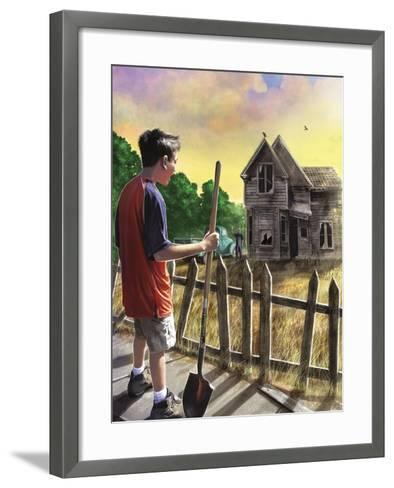 The Chore-Rob Johnson-Framed Art Print
