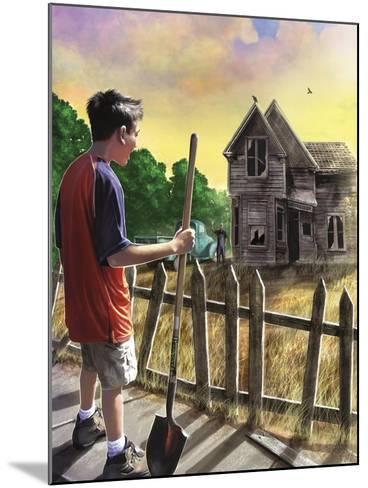 The Chore-Rob Johnson-Mounted Giclee Print