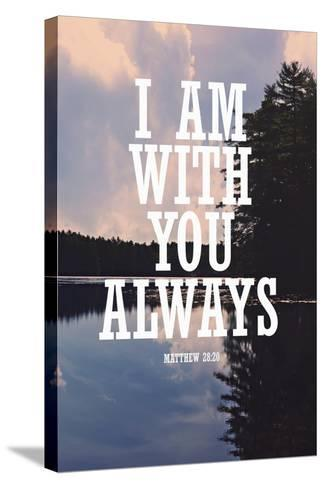 With You Always-Vintage Skies-Stretched Canvas Print