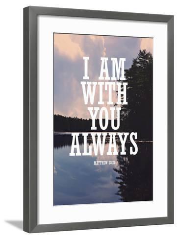 With You Always-Vintage Skies-Framed Art Print
