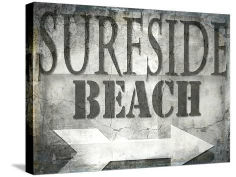Surfside Beach-LightBoxJournal-Stretched Canvas Print