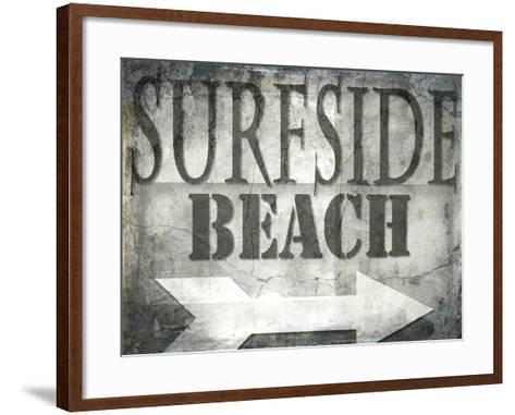 Surfside Beach-LightBoxJournal-Framed Art Print