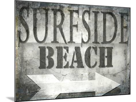 Surfside Beach-LightBoxJournal-Mounted Giclee Print