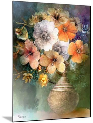 Flower Bunch-Skarlett-Mounted Giclee Print