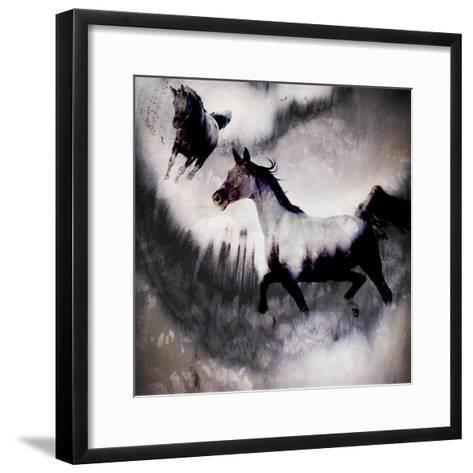 Black Mare - Dream 3-LightBoxJournal-Framed Art Print