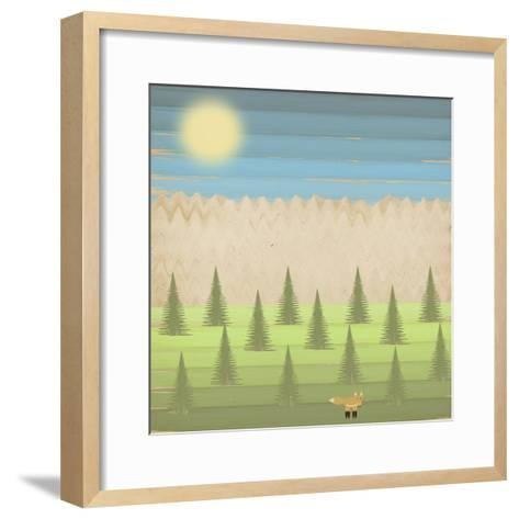 The Fox-Tammy Kushnir-Framed Art Print