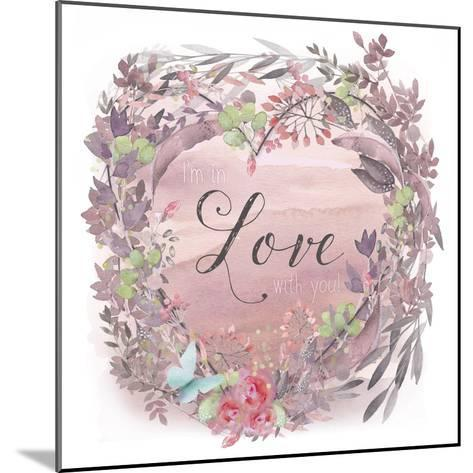 Love-Tina Lavoie-Mounted Giclee Print