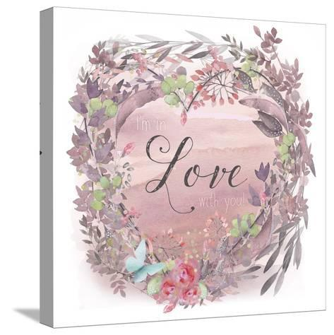 Love-Tina Lavoie-Stretched Canvas Print