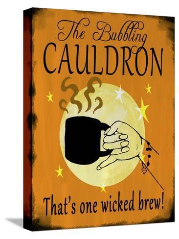 The Bubbling Cauldron-Valarie Wade-Stretched Canvas Print