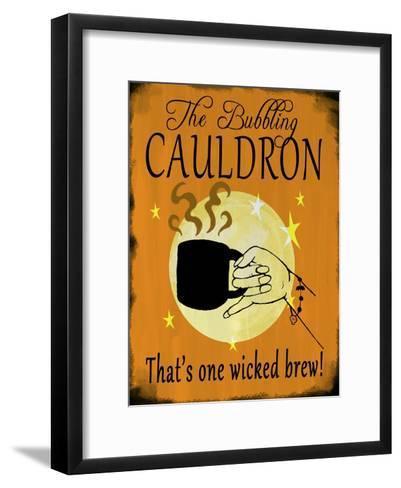 The Bubbling Cauldron-Valarie Wade-Framed Art Print