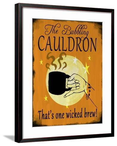 The Bubbling Cauldron-Valarie Wade-Framed Art Print