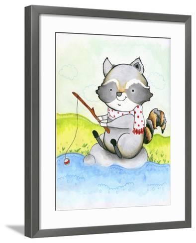 Gone Fishing-Valarie Wade-Framed Art Print
