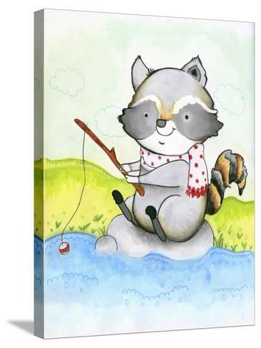 Gone Fishing-Valarie Wade-Stretched Canvas Print