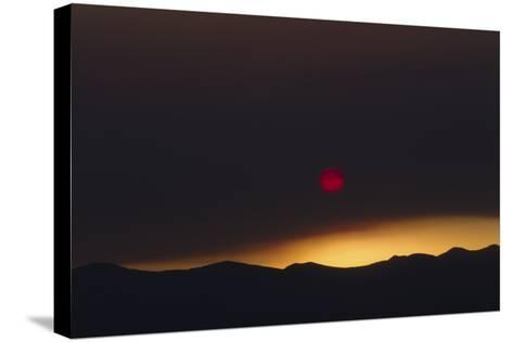 Desert Sunrise 1-Rob Lang-Stretched Canvas Print
