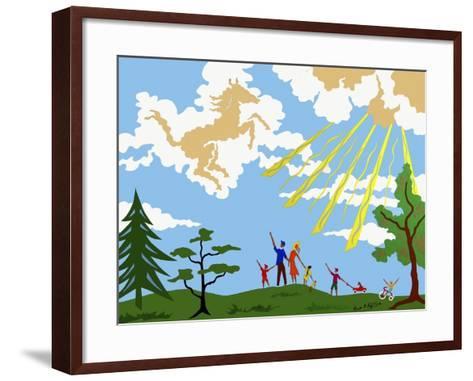 46CO-Pierre Henri Matisse-Framed Art Print