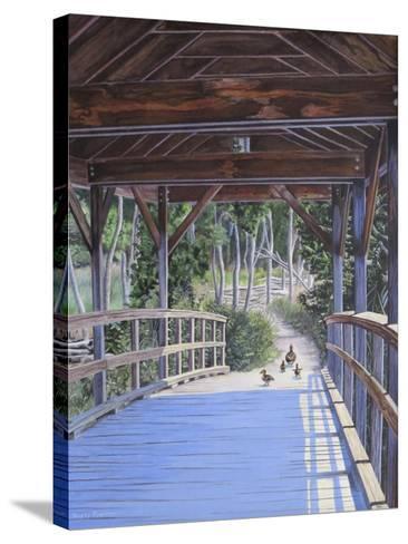 Bridge-Rusty Frentner-Stretched Canvas Print