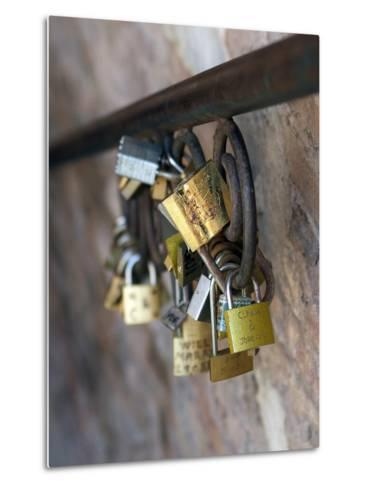 Love Locks-Toula Mavridou-Messer-Metal Print