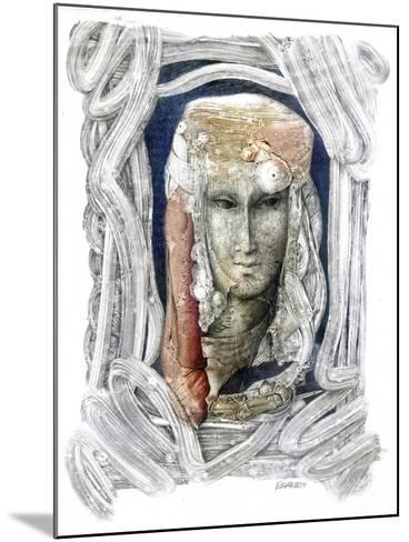 Reflection-Skarlett-Mounted Giclee Print
