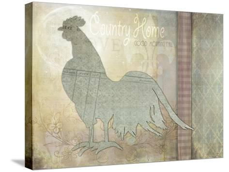 Morning Chicken 3-LightBoxJournal-Stretched Canvas Print