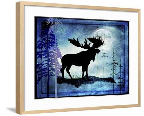 Midnight Moose-LightBoxJournal-Framed Art Print