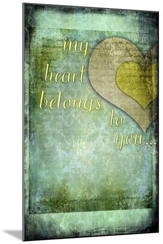 My Heart Belongs to You-LightBoxJournal-Mounted Giclee Print