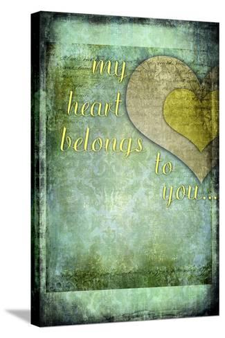 My Heart Belongs to You-LightBoxJournal-Stretched Canvas Print