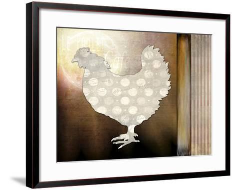 Morning Chicken 1-LightBoxJournal-Framed Art Print