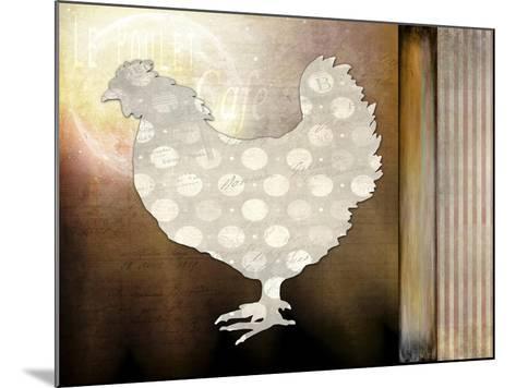 Morning Chicken 1-LightBoxJournal-Mounted Giclee Print